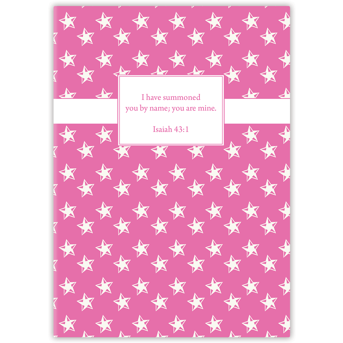 Mini Pink Star (Girl's) Journal Mini Paper Sunday LLC