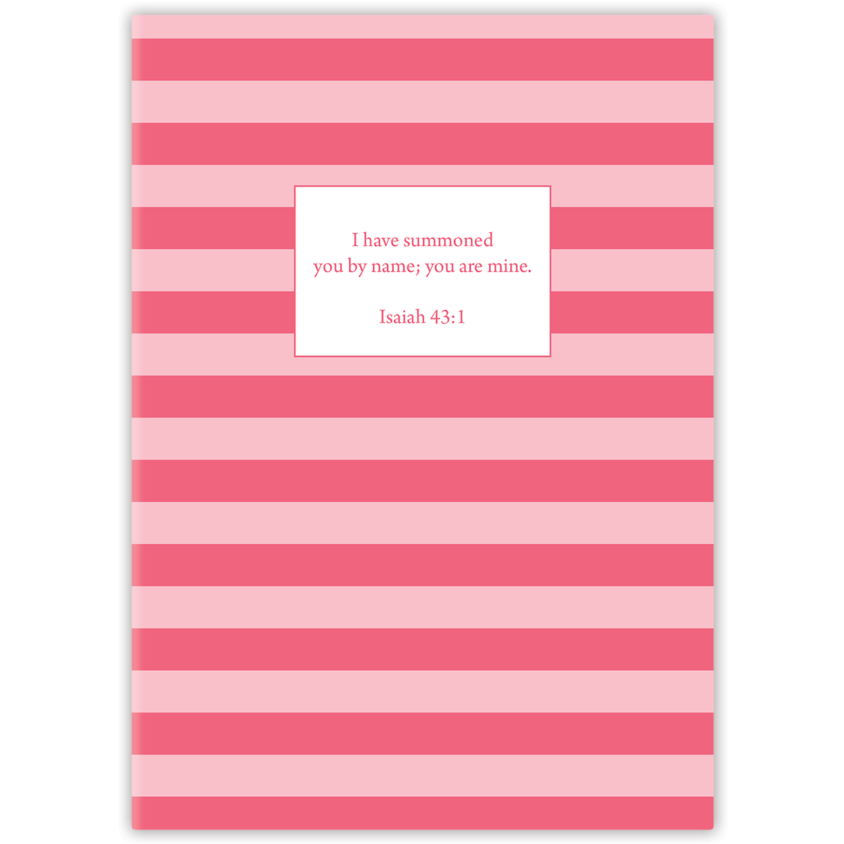 Mini Pink Stripe (Girl's) Journal Mini Paper Sunday LLC