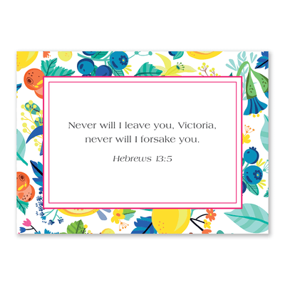 Women's Notecards (Lemon)