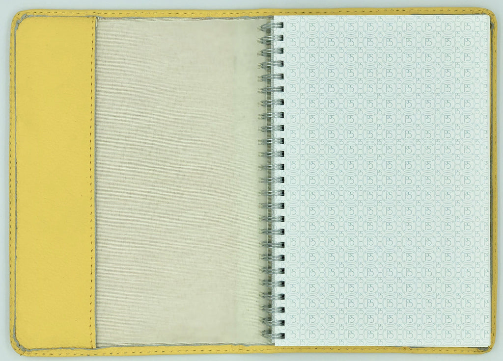 Leather Journal: Mustard Yellow