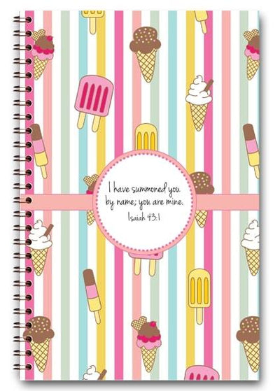 paper-sunday-Ice Cream Delight-christian-personalized-scripture-Journal-bible-verses-about-love-faith-hope