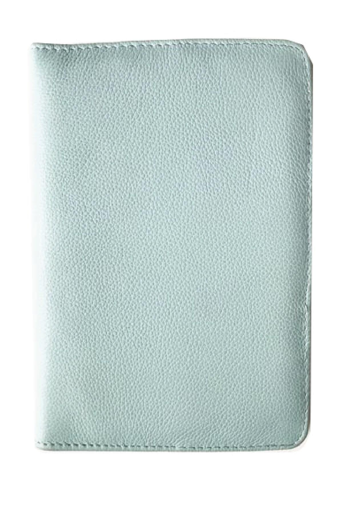 paper-sunday-Leather Journal: Powder Blue-christian-personalized-scripture-Leather Journal-bible-verses-about-love-faith-hope
