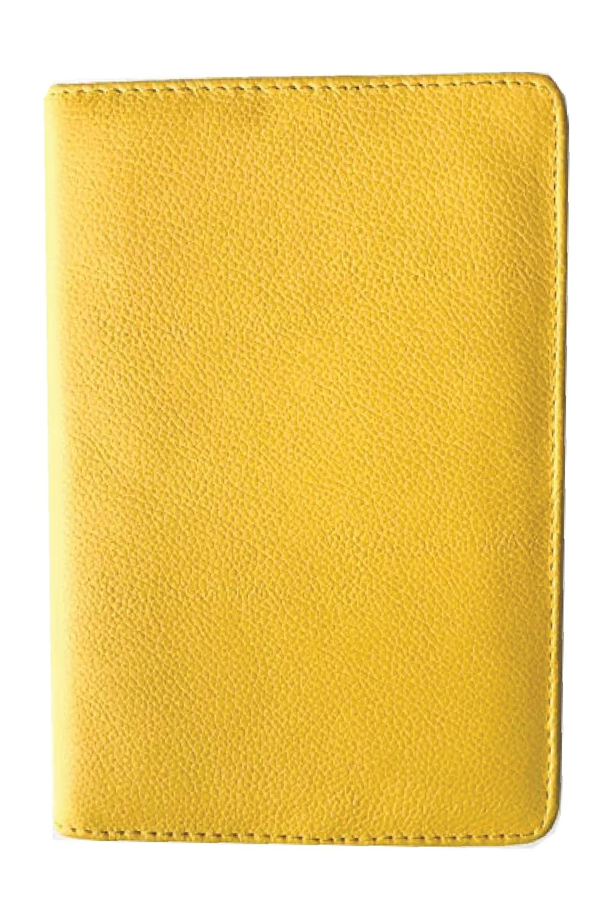 paper-sunday-Leather Journal: Yellow-christian-personalized-scripture-Leather Journal-bible-verses-about-love-faith-hope