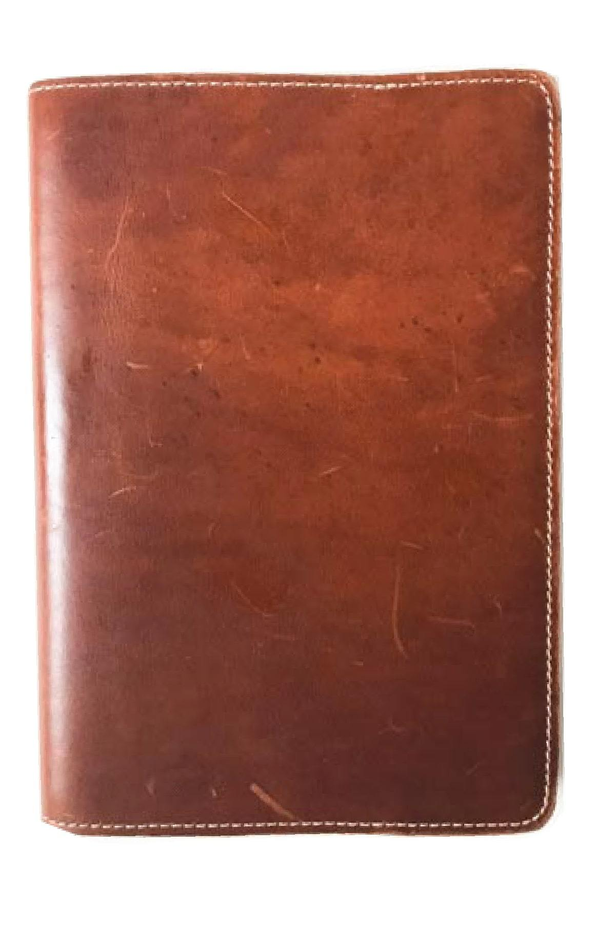 paper-sunday-Leather Journal: Tobacco-christian-personalized-scripture-Leather Journal-bible-verses-about-love-faith-hope