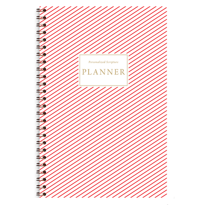 Red Stripes (Planner) Planner Paper Sunday