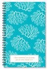 paper-sunday-Turquoise Coral-christian-personalized-scripture-Journal-bible-verses-about-love-faith-hope