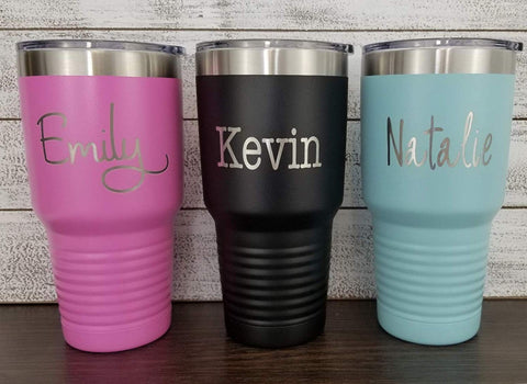 Personalized 30 oz Tumbler