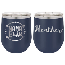 Load image into Gallery viewer, Personalized Mother Tumbler - 12 oz Stainless Steel Wine Tumbler - Vacuum Insulated