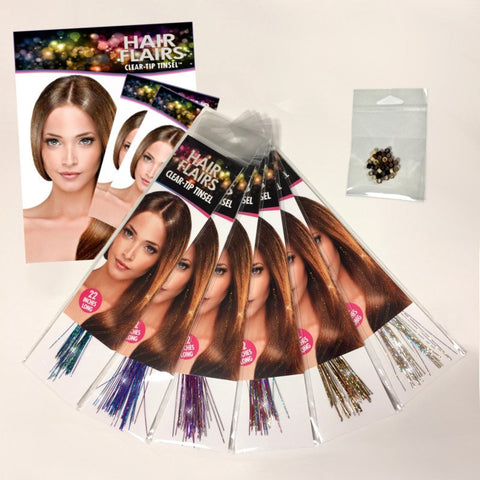 Clear Tip Tinsel - Clear Tip Tinsel KIT 2