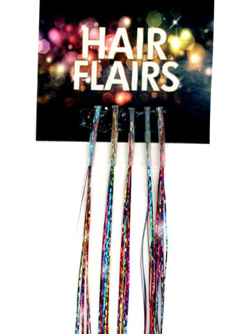 Clear Tip Tinsel - Kaleidoscope Clear Tip Tinsel Extensions