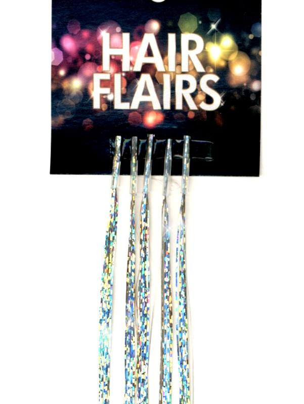 Clear Tip Tinsel - Light Metallics Clear Tip Tinsel Extensions