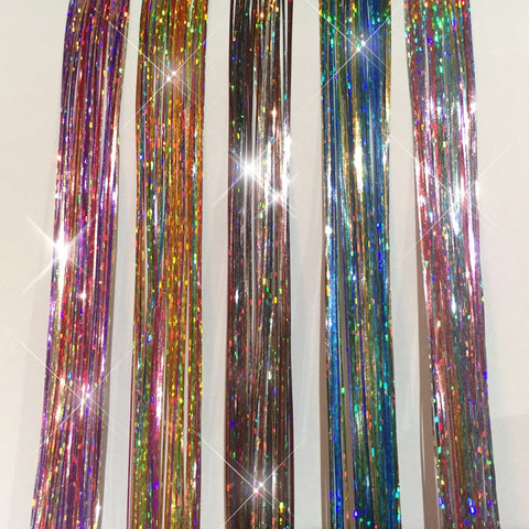 Pro Hair Tinsel - Sparkle 22 Color Mixed Hair Tinsel