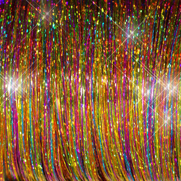 Pro Hair Tinsel - Sparkle Brights Mix2 Hair Tinsel