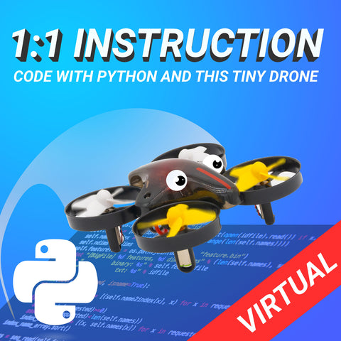 1-on-1 Class: Drone Programming w/ CoDrone Mini - Python