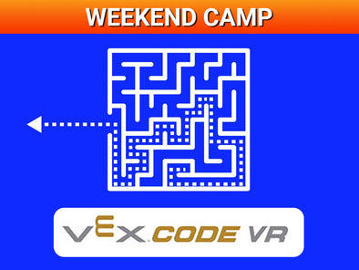 Weekend Camp: Code a maze escape with virtual VEX IQ!