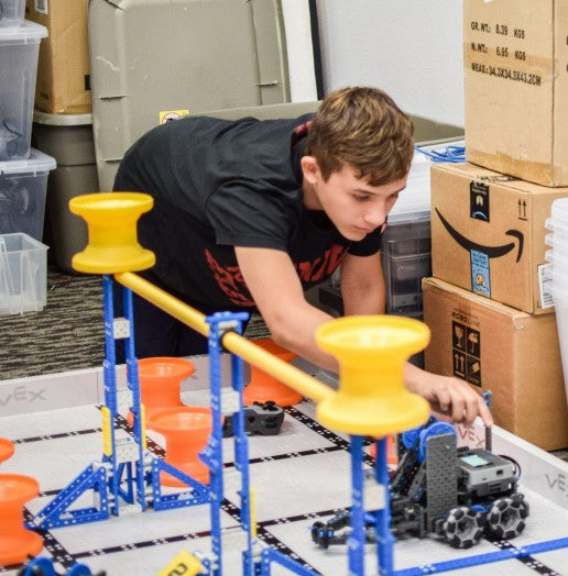 Introduction to Vex IQ Summer Camp