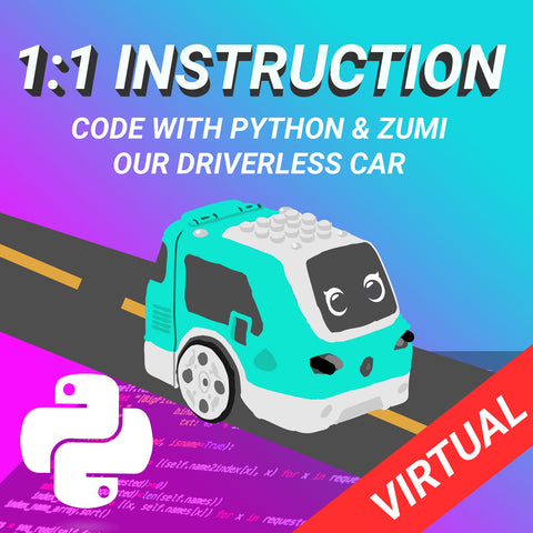 1:1 Zumi + Live Virtual Class Package