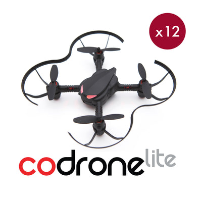 CoDrone Lite Classroom Set of 12 kits