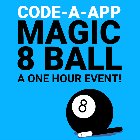 Code.org App Lab: Magic 8 Ball