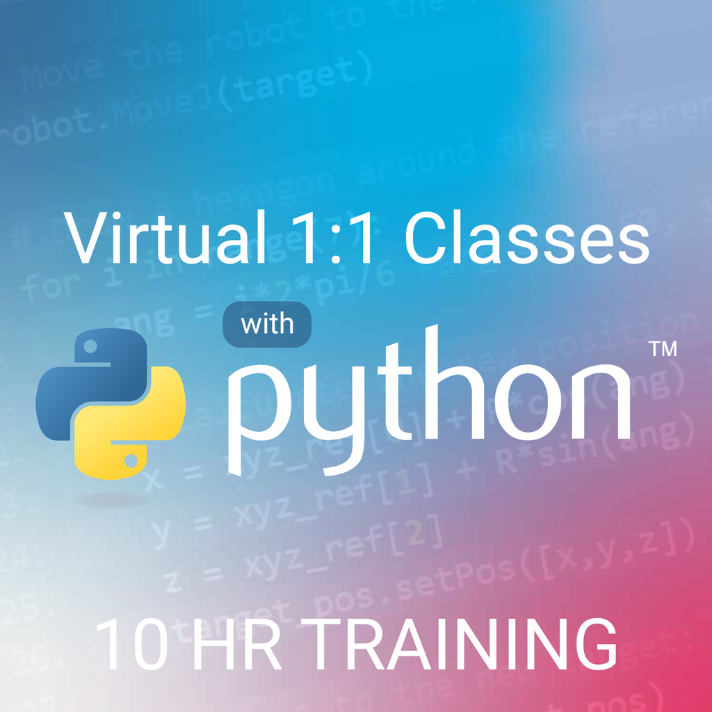 10hr Python Programming Live 1:1 Training