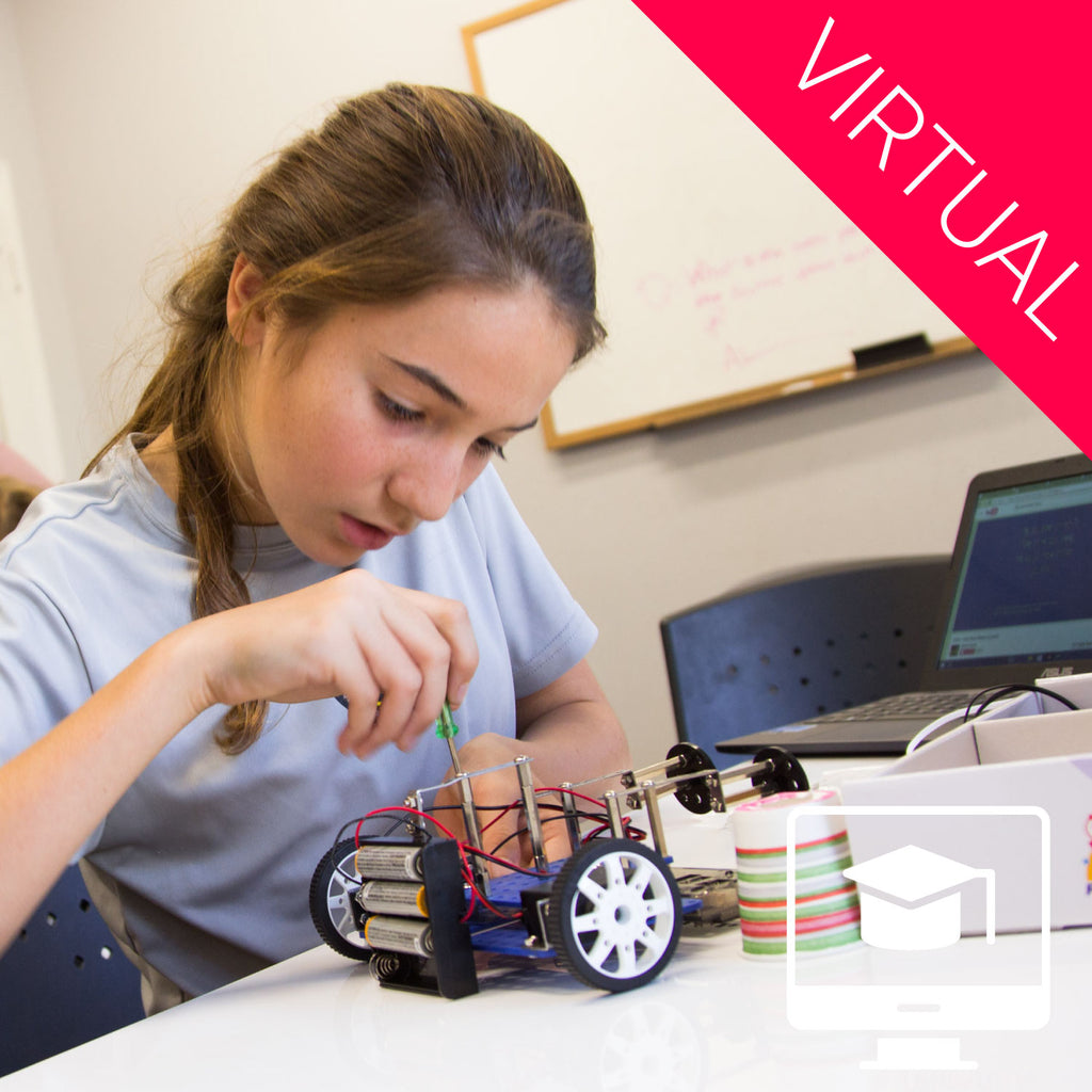 Virtual: Robotics Fundamental Summer Camp