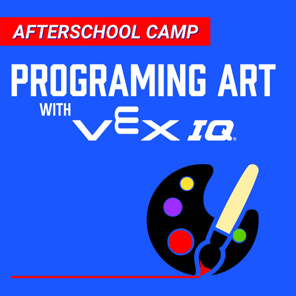 Afterschool Camp: Programing art with virtual VEX IQ!