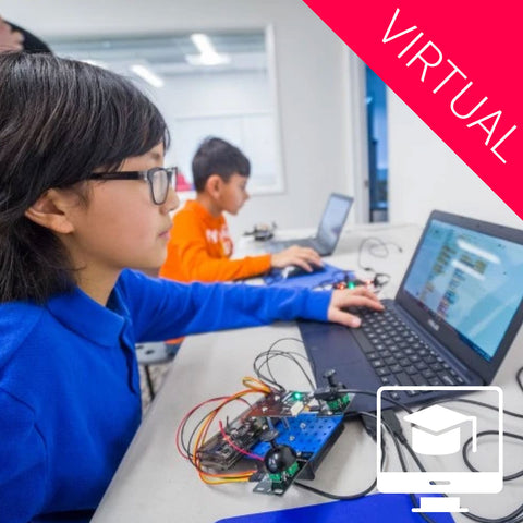 Virtual: Drone Block Coding Summer Camp