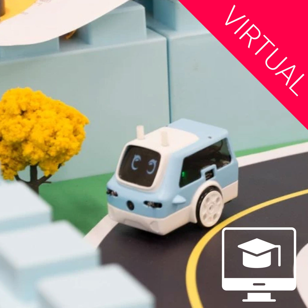 Virtual: Self Driving Car Summer Camp