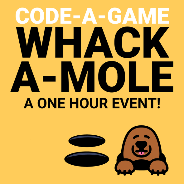 Code.org App Lab: Whack-a-mole Game