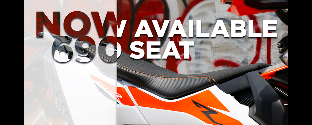 2019 KTM 690 seats now available!