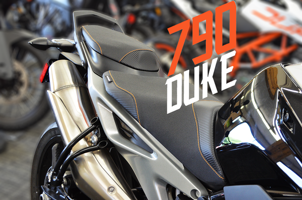 KTM 790 Duke Comfort seat - Now available!