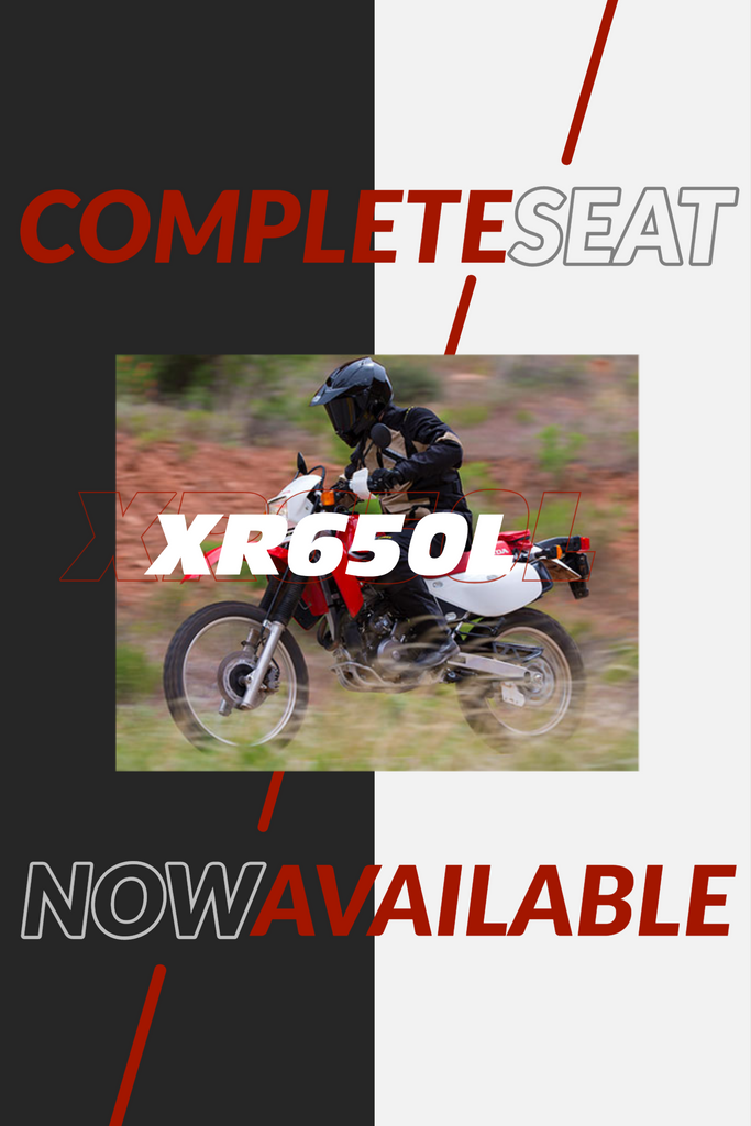 XR650L - Now available as a complete seat