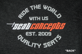 Seat Concepts T-Shirt - Ride The World With Us