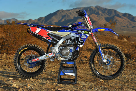 Yamaha (2014-17) YZ250/450 F/FX (2016-18) WR250/450F *OEM IMS Dry Break Ready* Super Grip - Seat Concepts