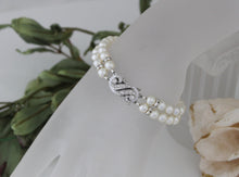Load image into Gallery viewer, Pearl Cuff Bracelet Bridal Jewellery - Clairesbridal - 1