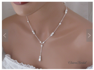 Pearl Wedding Jewelry Sets for Brides - Clairesbridal - 1