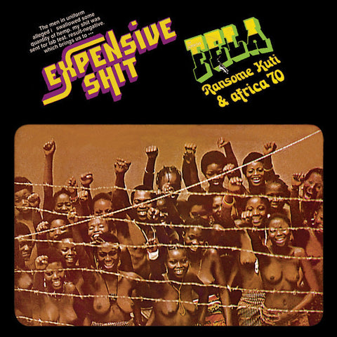 "Fela Kuti ""Expensive Shit"" (1975) LP Vinyl"