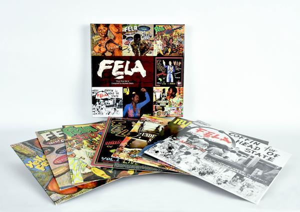 Fela Kuti Vinyl Box Set #4 - Curated by Erykah Badu (7xLP)