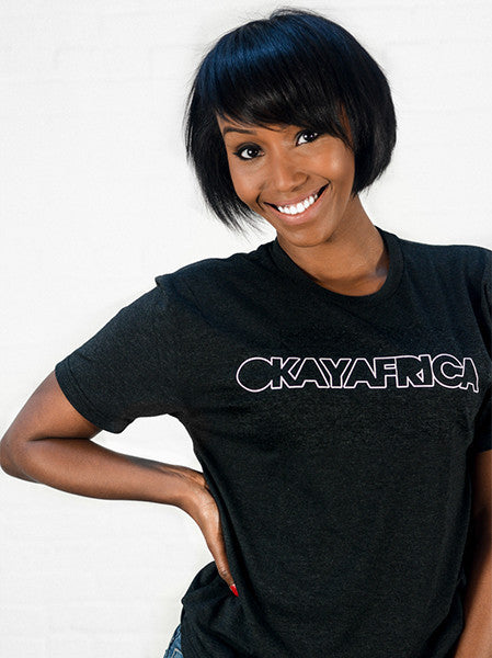 OkayAfrica Logo T-Shirt (Red, Black, or White)