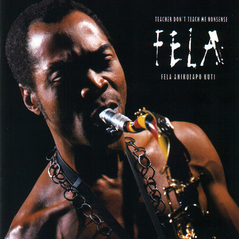 "Fela Kuti ""Teacher Dont Teach Me No Nonsense"" (1986) LP Vinyl"
