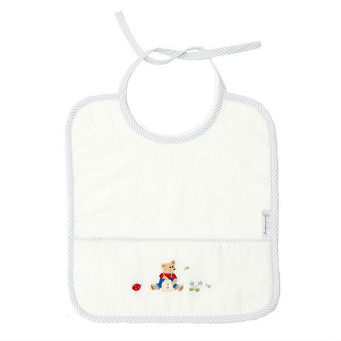 terry bib teddy bear