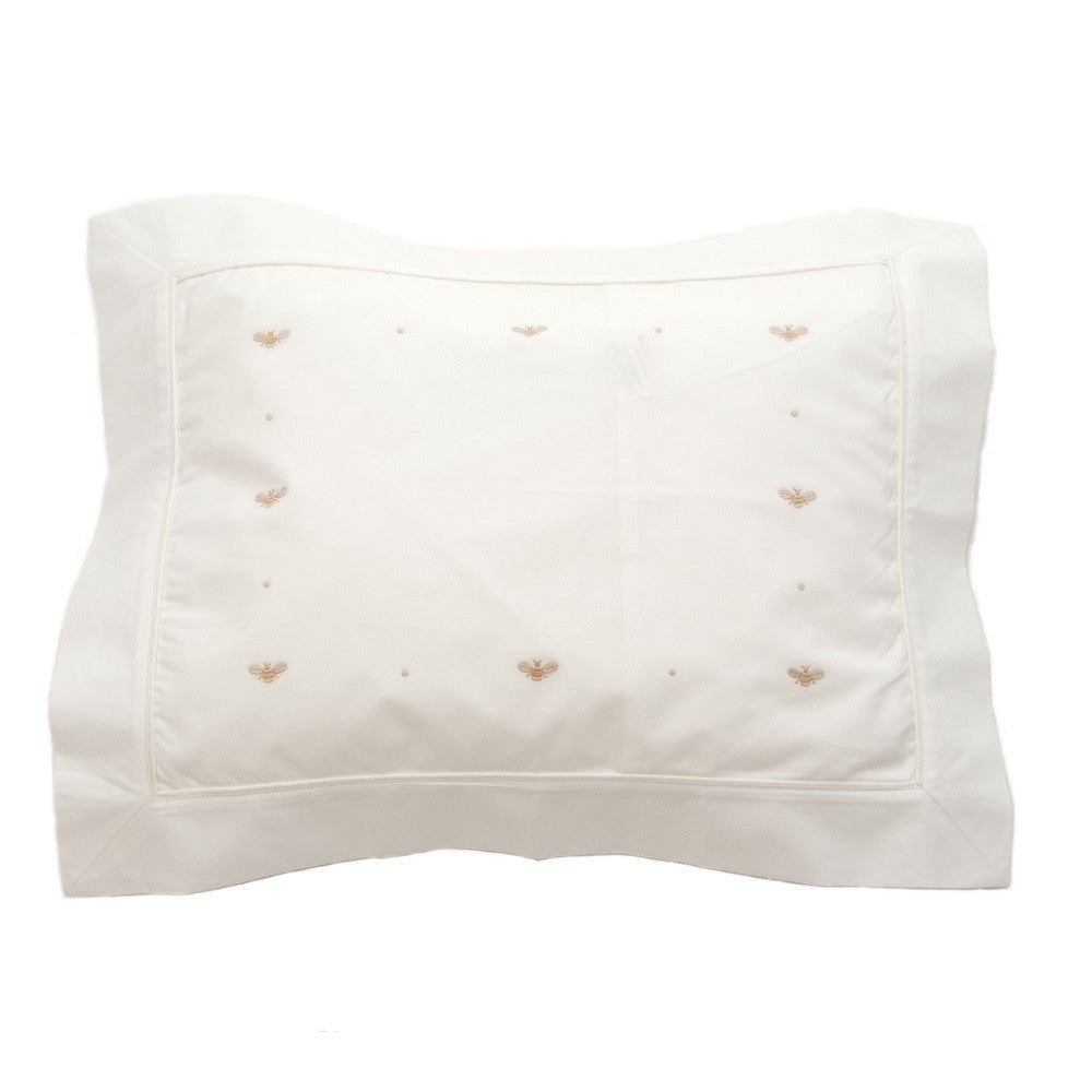 beige baby bee boudoir pillowcase