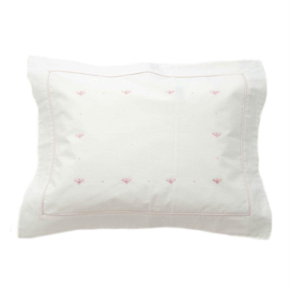 pink baby bee boudoir pillowcase
