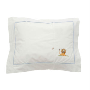 on safari boudoir pillowcase blue
