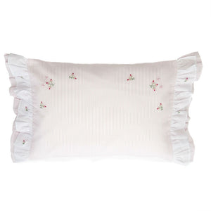 rosebud boudoir pillowcase