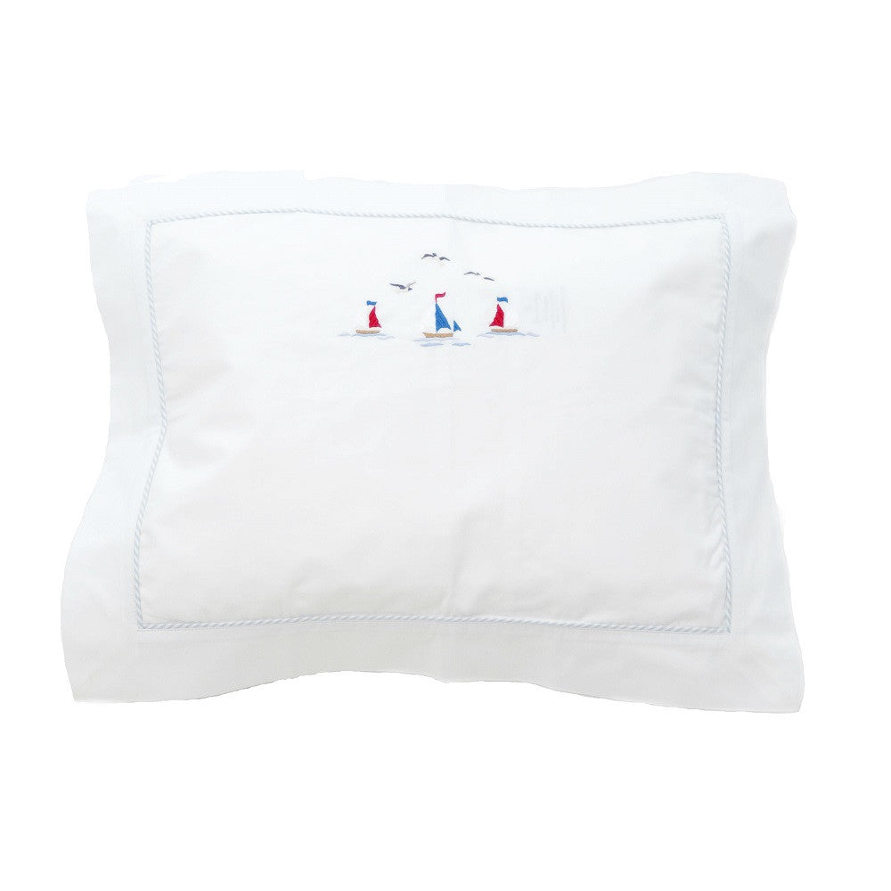 sailing away boudoir pillowcase