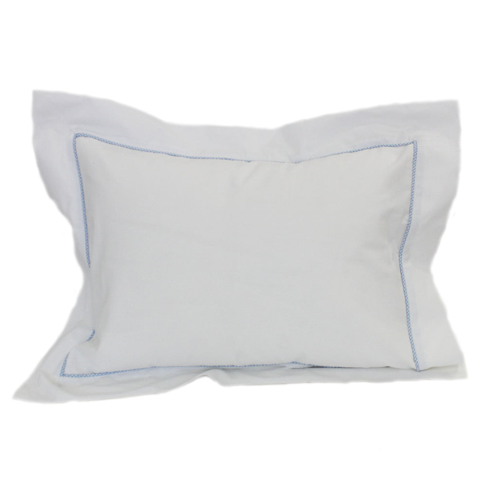 blue boudoir pillowcase