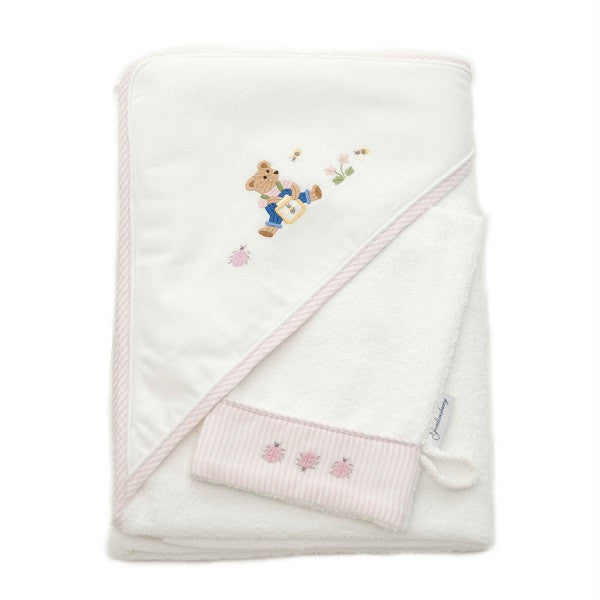 hooded towel nursery time
