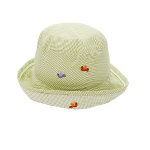 sun hat monkey business green boy