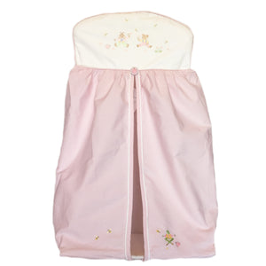 nappy stacker nursery time pink